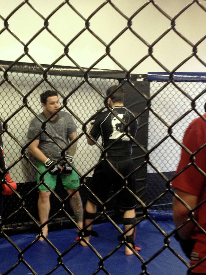 An average Monday night MMA class