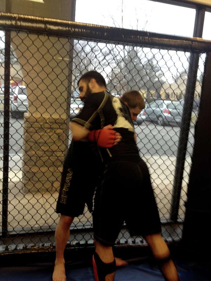 An average Monday night MMA class