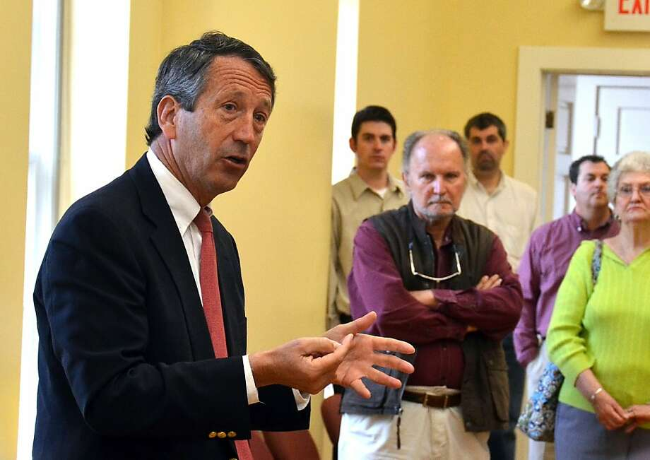 Former South Carolina Gov. Mark Sanford, whose career was sidelined by an extramarital affair, campaigns Monday in Beaufort for the GOP nomination for a House seat, which he won. Photo: Sarah Welliver, Associated Press