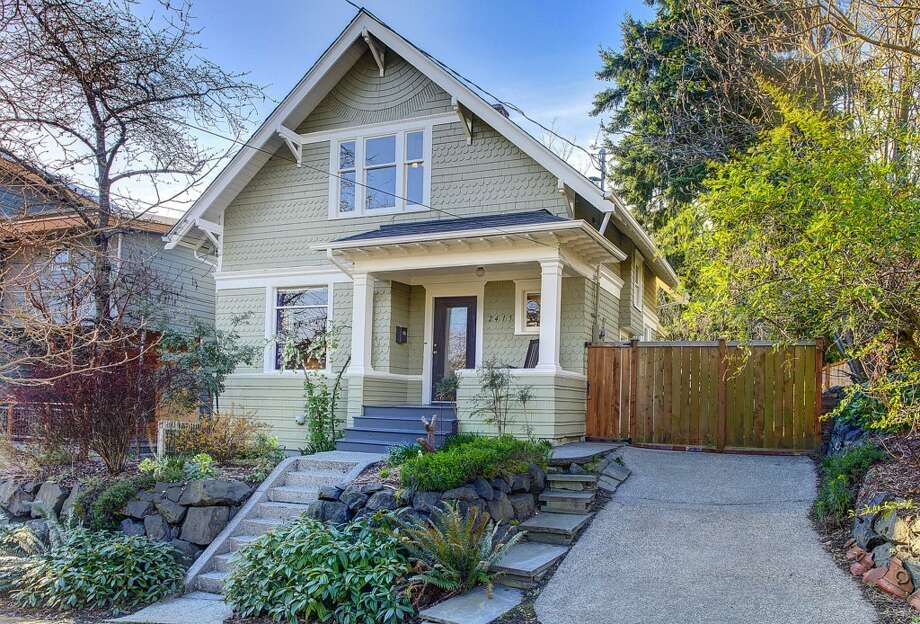 Seattle's Central Area offers nice homes close to just about everything. Here are five homes listed there between $400,000 and $500,000, starting with 2415 E. Spring St. The 2,180-square-foot Craftsman, built in 1907, has three bedrooms, 1.5 bathrooms, high ceilings, built-ins, a back porch and a patio on a 3,000-square-foot lot. It's listed for $489,900. Photo: Josh Phoenix/HD Estates, Courtesy Marcus Holmes/WaLaw Realty