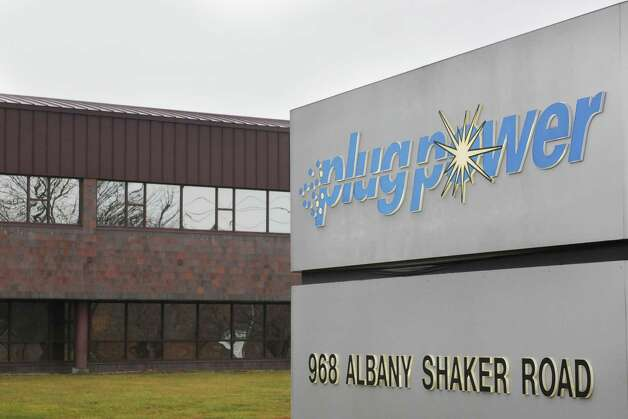 Plug Power?s headquarters and production facility on Albany Shaker Road in Latham N.Y. Monday, Dec. 17, 2012.  (Will Waldron/Times Union) Photo: Will Waldron