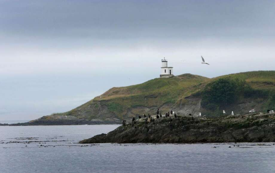 The Cattle Point Lighthouse is shown in this file photo. (Joshua Trujillo, seattlepi.com)