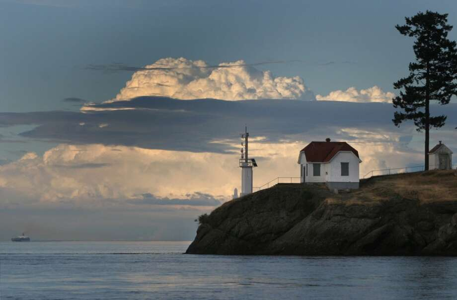 The Turn Point Lighthouse is shown on the west end of Stuart Island in this file photo. (Joshua Trujillo, seattlepi.com)