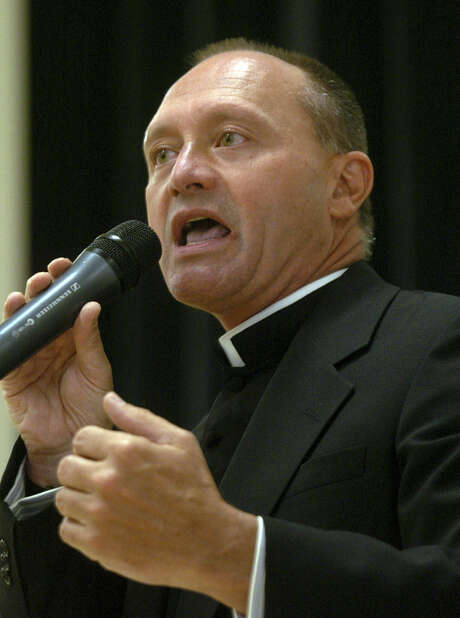 Monsignor Kevin Wallin, currently suspended, pleaded guilty in federal court in Hartford, Conn. to conspiracy to possess with intent to distribute methamphetamine. Photo: Connecticut Post File Photo