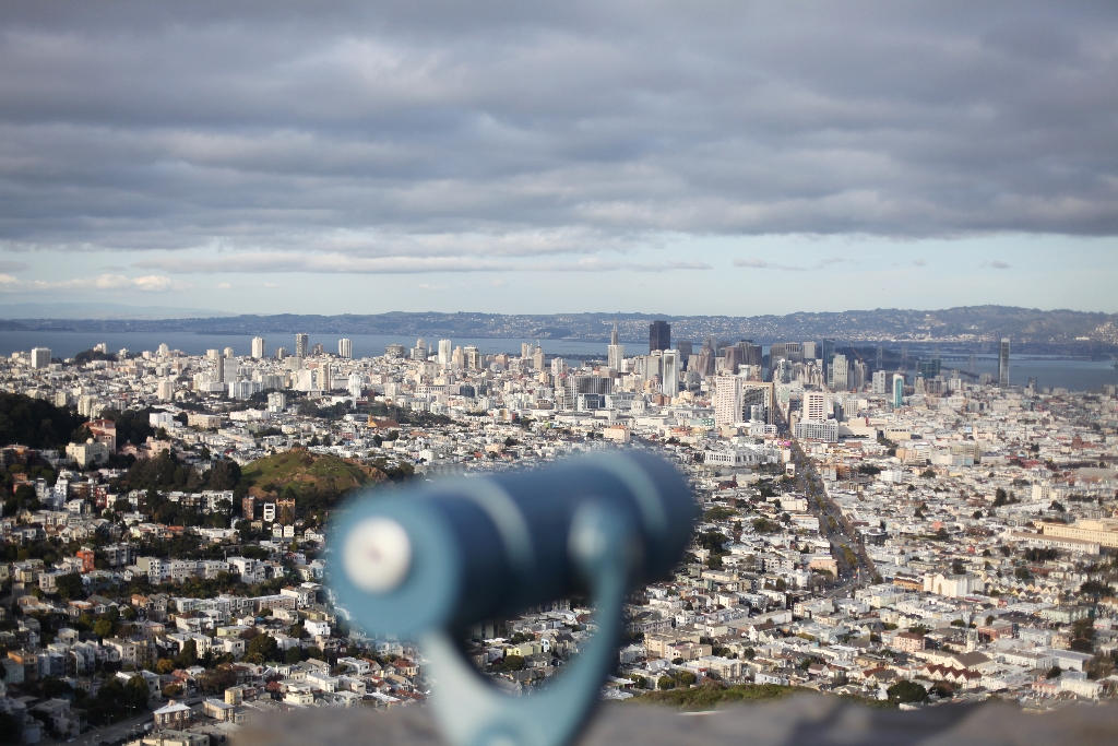 how to avoid hills in san francisco