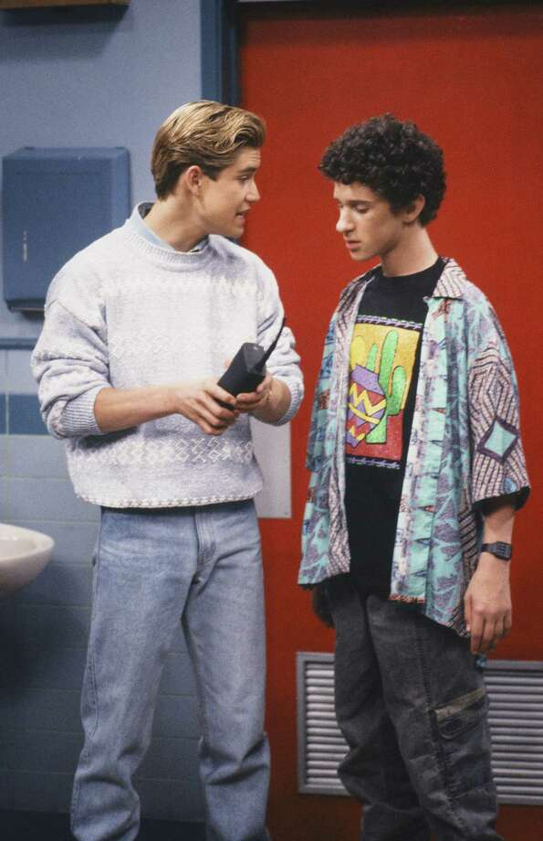 Zack Morris' cell phone -Is it a communication device? Or is it a spray-painted brick? We may never know. Photo: NBC, File / © NBC Universal, Inc.