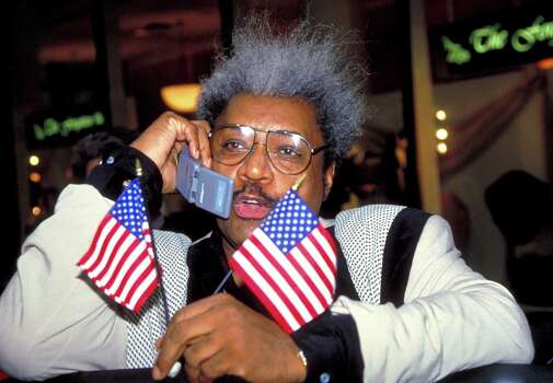 Don King This boxing promoter earned two spots on this list. First, King killed a man as the man was trying to break into King's home. The case was ruled a justifiable homicide. Second, King was convicted of first-degree manslaughter  for stomping an employee to death. King was later pardoned for the crime. Photo: Steve Eichner, File / WireImage