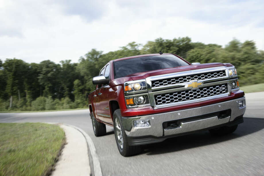 This is the 2014 Chevrolet Silverado in new condition. Photo: Chevrolet