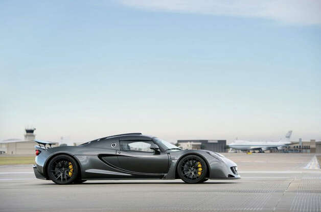 Hennessey Venom GT: 265.7 mph, 0-60 in 2.5 seconds. Photo: Hennessey
