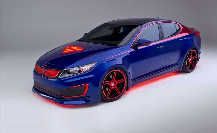 Superman Optima hybrid Photo: Car&Driver.com