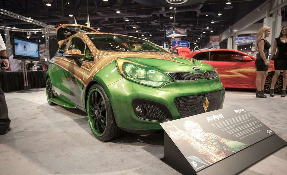 Aquaman Kia Rio5 Photo: Car&Driver.com