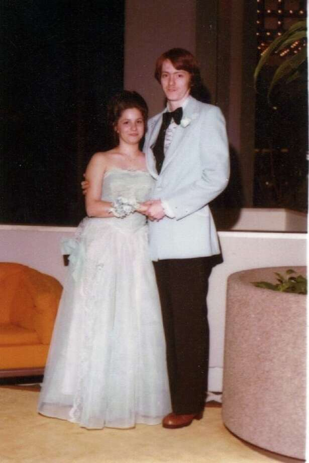Diana and Norman Cawthon at the Cleveland High School prom in 1978.