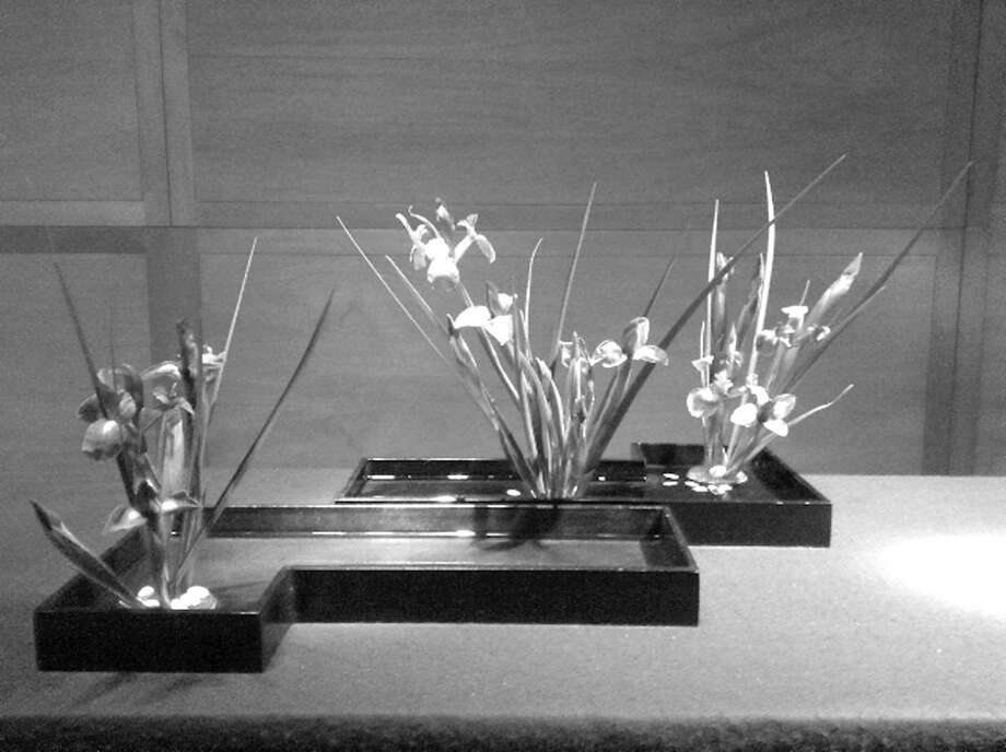 Learn Ikebana flower arranging on April 11, at 10 a.m., at the Cos Cob Library, 5 Sinawoy Road. For more information email Carol Dixon at caroldixon@optonline.net. Photo: Contributed Photo