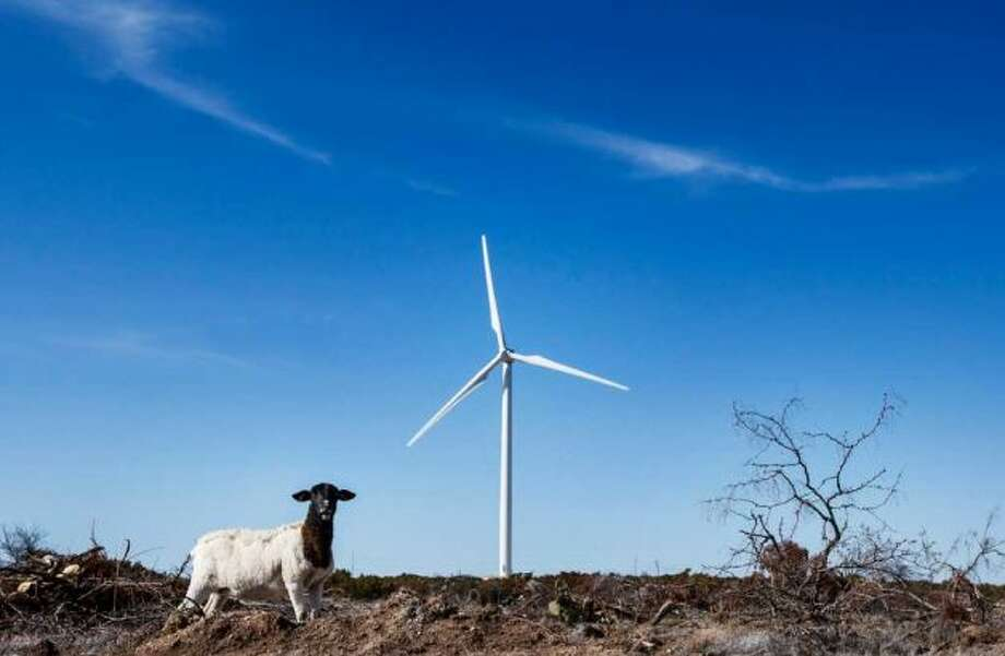 BP, which operates the 60-turbine Sherbino 2 wind farm, has been putting up an average of three turbines a week, and Texas has one of every three of those. Photo: Michael Paulsen / © 2012 Houston Chronicle