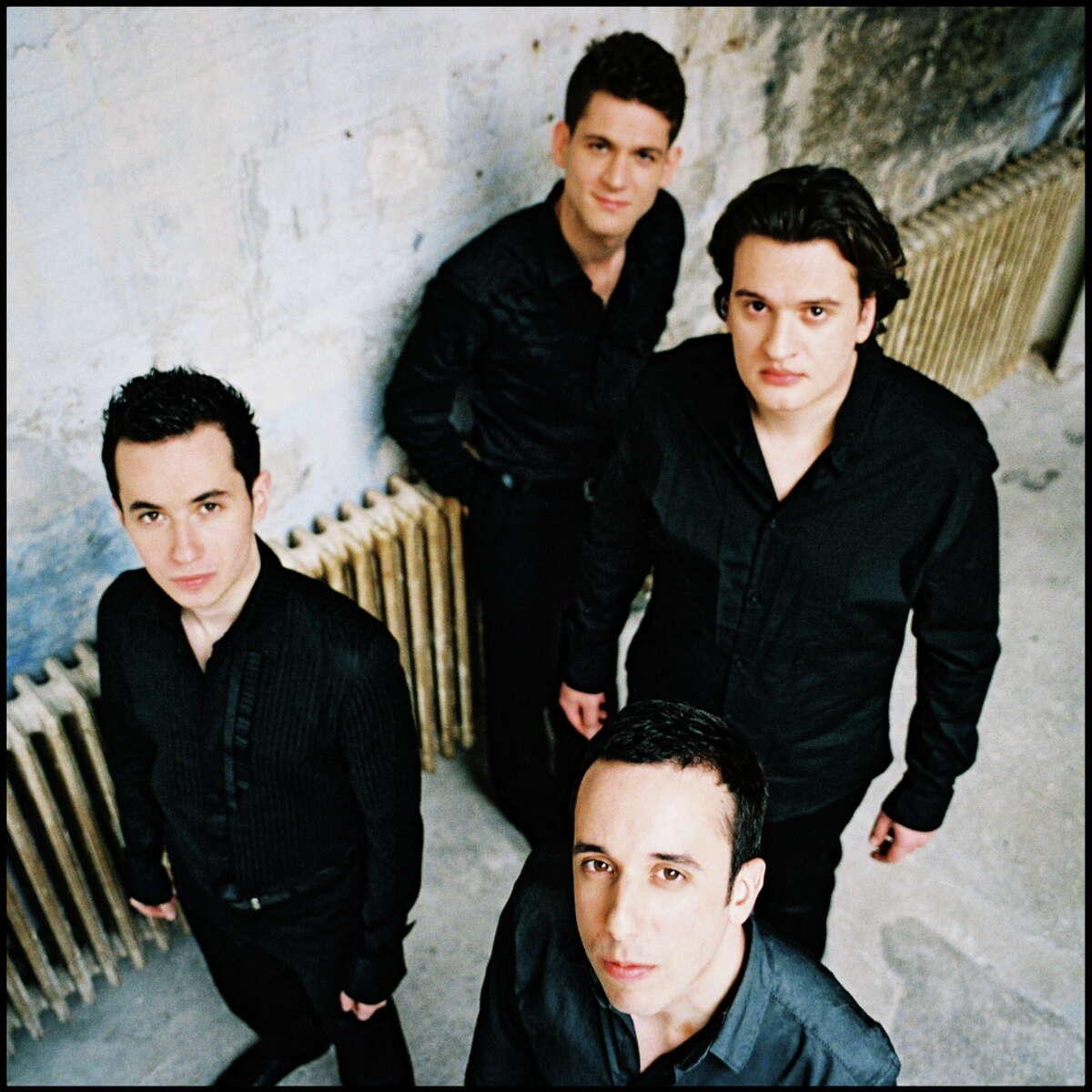 Ebene Quartet. Photo courtesy of Da Camera.