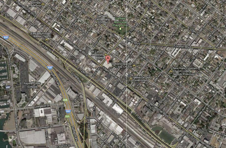 2300 block of International Boulevard, Oakland, CA Photo: Google Maps