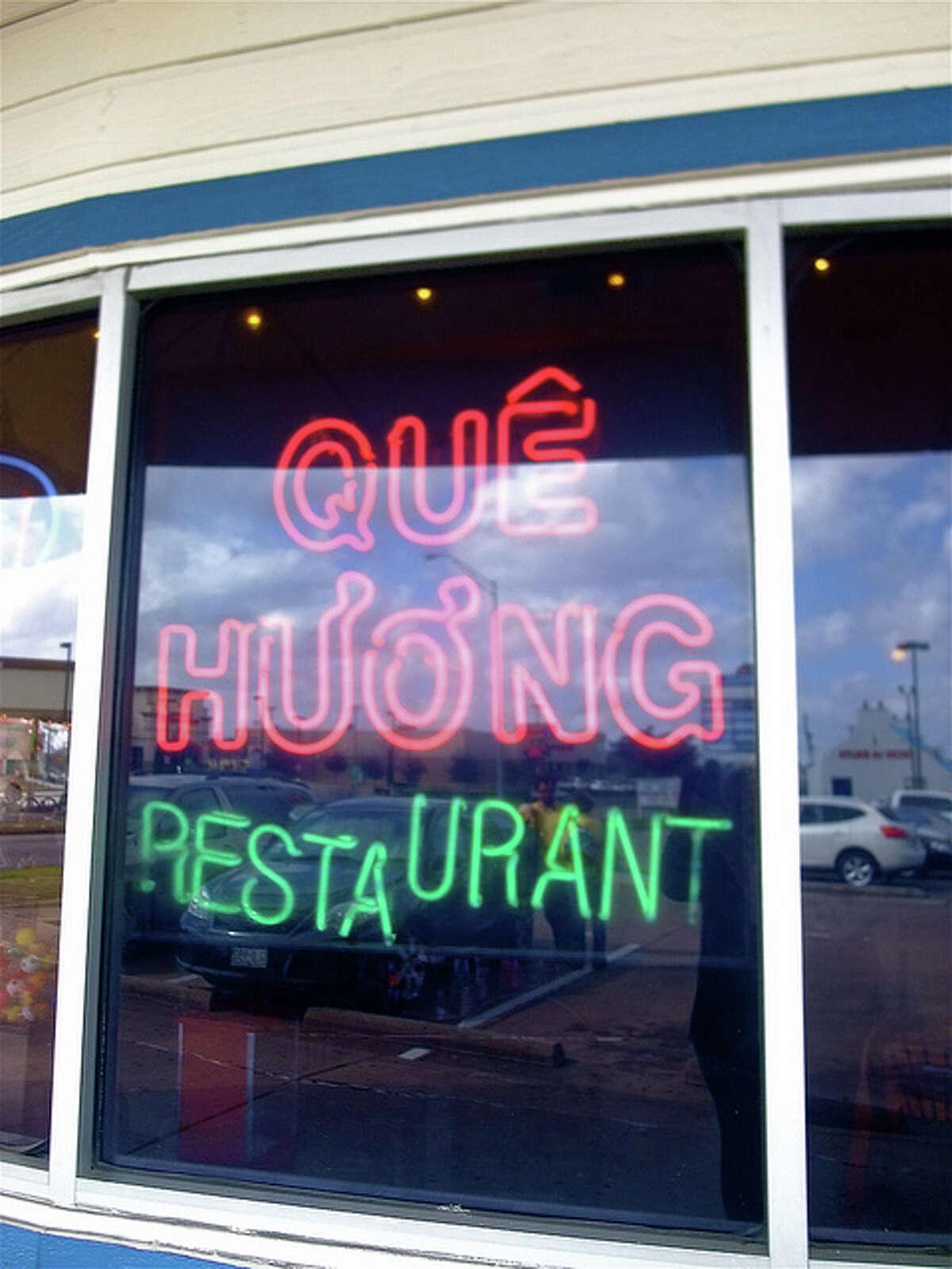 Que Huong restaurant.
