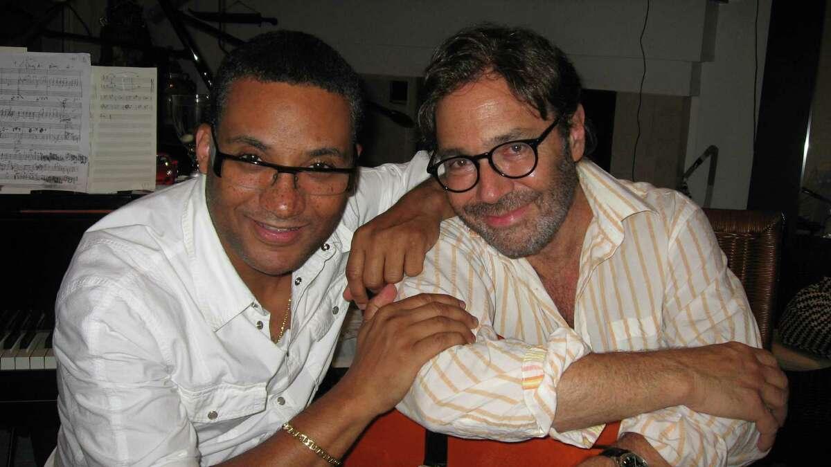 Al DiMeola and Gonzalo Rubalcaba (Courtesy The Egg)