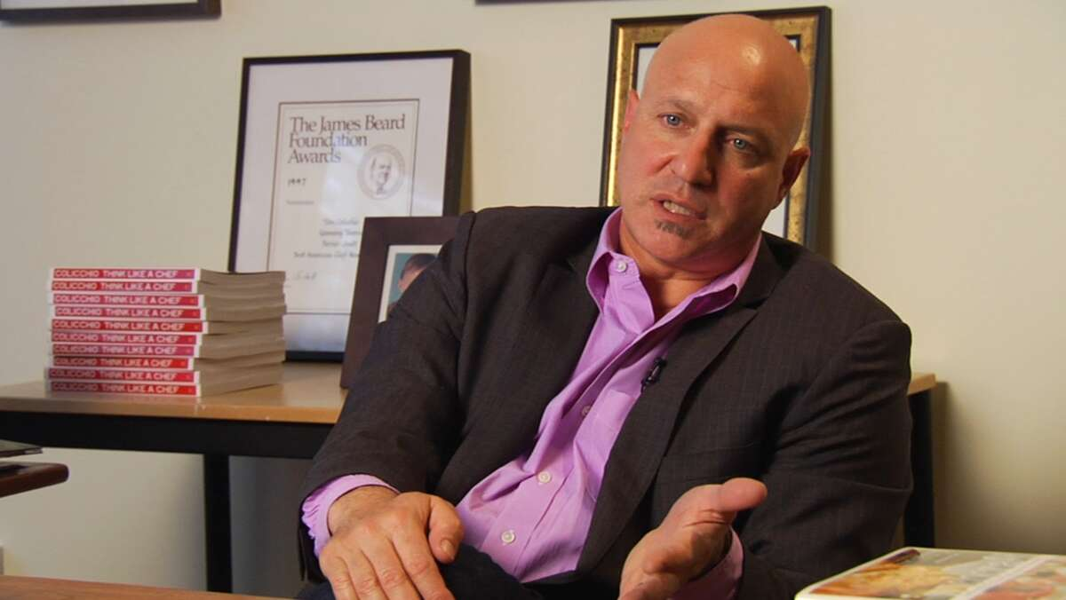 Tom Colicchio in A PLACE AT THE TABLE, a Magnolia Pictures release. (Photo courtesy of Magnolia Pictures)