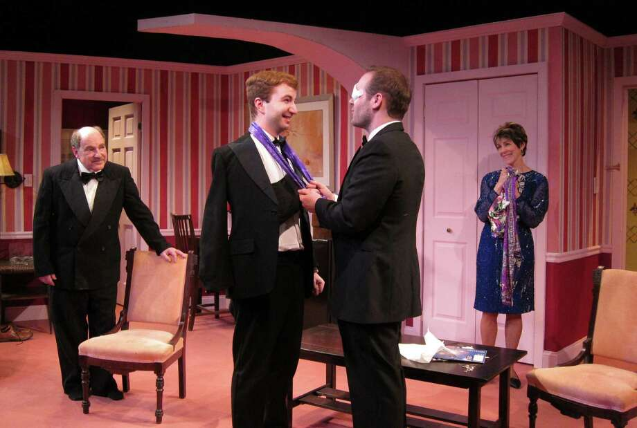"""Donna DeMatteo's comedy """"Our Son's Wedding"""" centers on the nuptials of Michael LoPresto and Dr. David Schwartz, but it's really the story of Michael's parents, Mary and Angelo. Opens 8 p.m. Friday at Curtain Call Theatre in Latham and runs 7:30 p.m. Thursday, 8 p.m. Friday and Saturday, and 3 p.m. Sunday. Through May 11. Click here for more information. (Photo: Kevin Gardner)"""