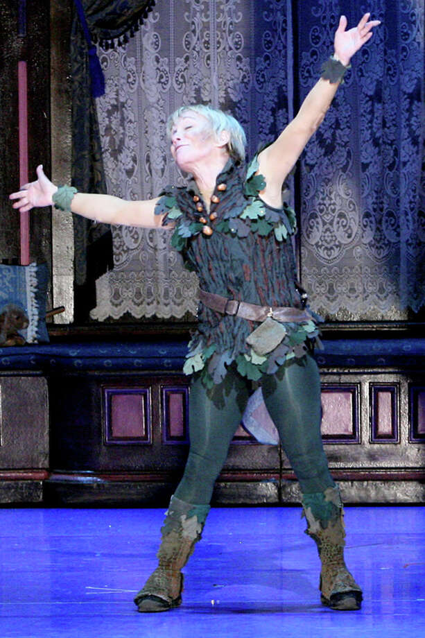 "Cathy Rigby stars in ""Peter Pan"" (Michael Lamont)"