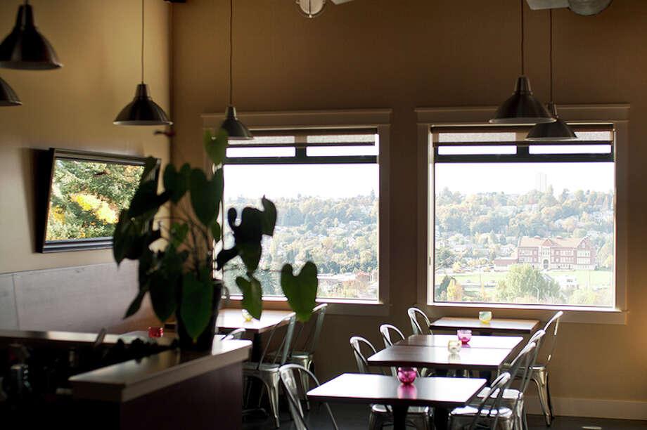 A la bonne franquette restaurant serves French food with a view in Mount Baker. Photo: A La Bonne Franquette