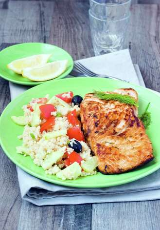 Glazed salmon is a perfect dish for warmer weather. (Fotolia) Photo: Unknown / manyakotic - Fotolia