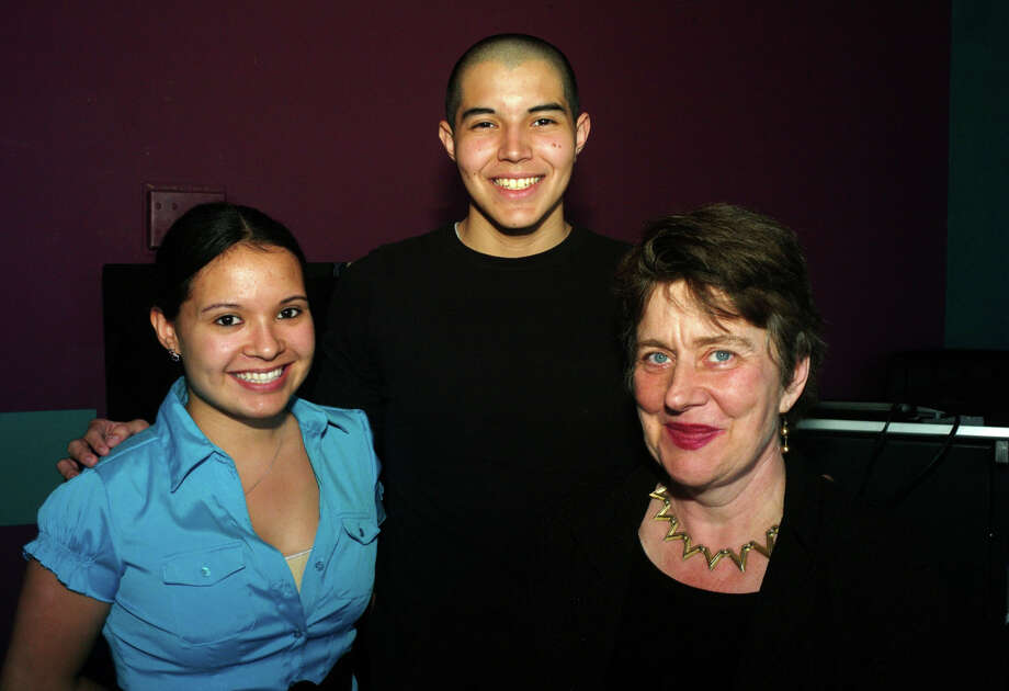 Lauren Hernandez Cruz (from left), Eric Pitty and Sheila Black Photo: LELAND A. OUTZ, For The Express-News / SAN ANTONIO EXPRESS-NEWS