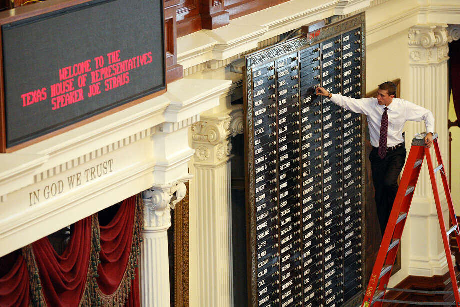 A state budget bill is headed for the House floor and attracting a lot of attention. Photo: Jerry Lara, San Antonio Express-News