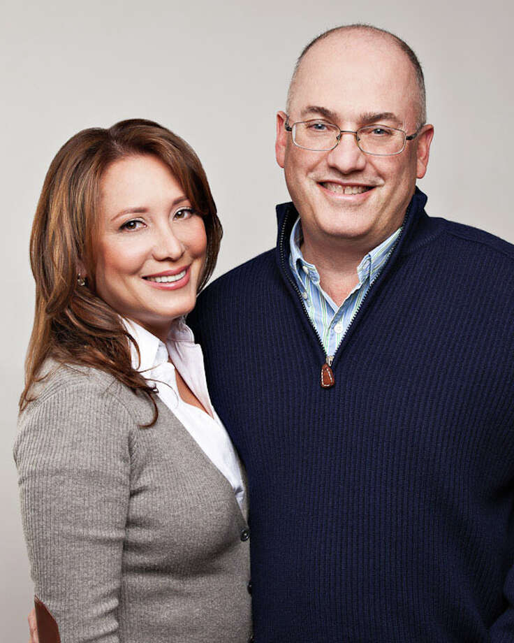 "Steven Cohen with his current wife Alexandra Cohen. The hedge fund billionaire's former wife has won reinstatement of a lawsuit that seeks $8.25 million in damages based on claims the hedge fund is ""the product of an ongoing racketeering scheme."" Photo: Contributed Photo / The Advocate Contributed"