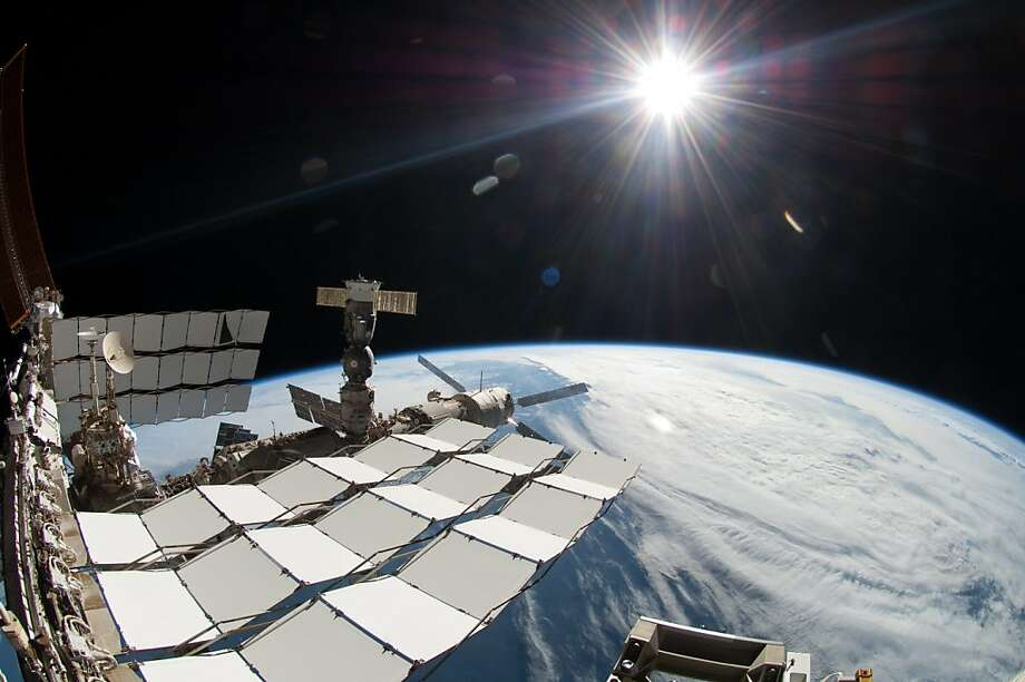 A $2 billion cosmic ray detector on the International Space Station has helped in the search for dark matter. Photo: Associated Press