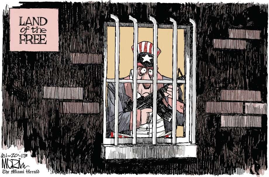 Cartoon by Morin (Miami Herald)