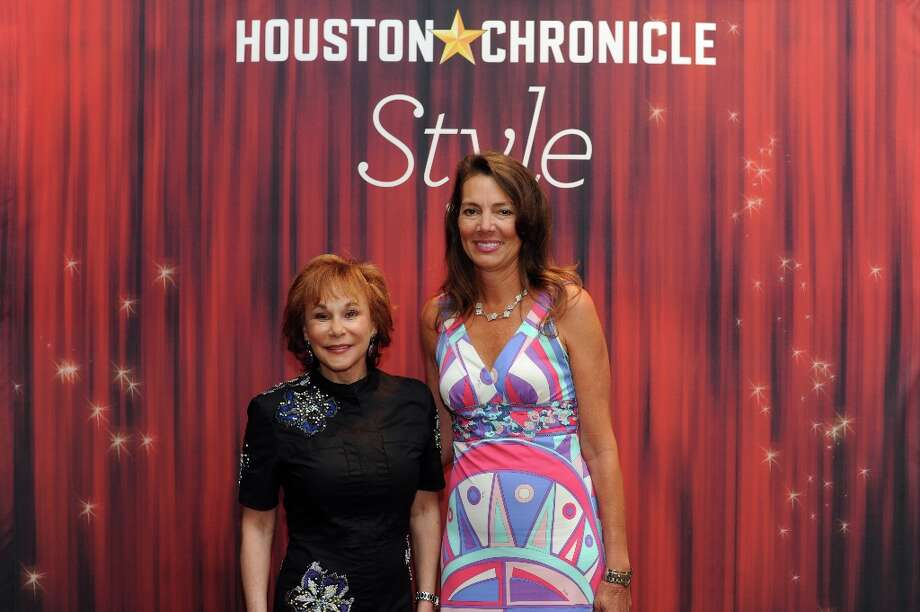 Nancy Dinerstein and Lisa Eads (left to right) pose at the Houston Chronicle's 31st annual Best Dressed luncheon, at the Westin Galleria Hotel, Houston, Texas on the 3rd April 2013. Photo: Spike Johnson, For The Chronicle / Spike Johnson