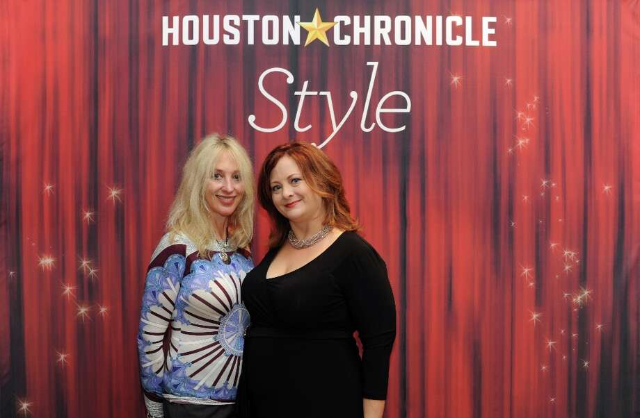 Naomi Engel and Shannon McNair (left to right) pose at the Houston Chronicle's 31st annual Best Dressed luncheon, at the Westin Galleria Hotel, Houston, Texas on the 3rd April 2013. Photo: Spike Johnson, For The Chronicle / Spike Johnson
