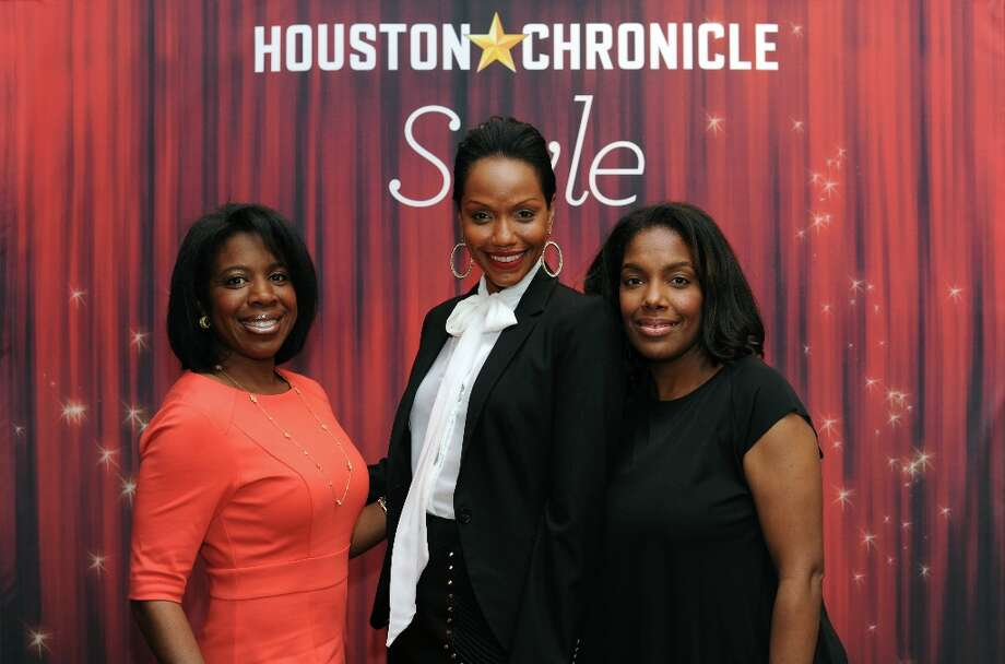 April Jones, Gena Avery and Tanya Robertson (left to right) pose at the Houston Chronicle's 31st annual Best Dressed luncheon, at the Westin Galleria Hotel, Houston, Texas on the 3rd April 2013. Photo: Spike Johnson, For The Chronicle / Spike Johnson