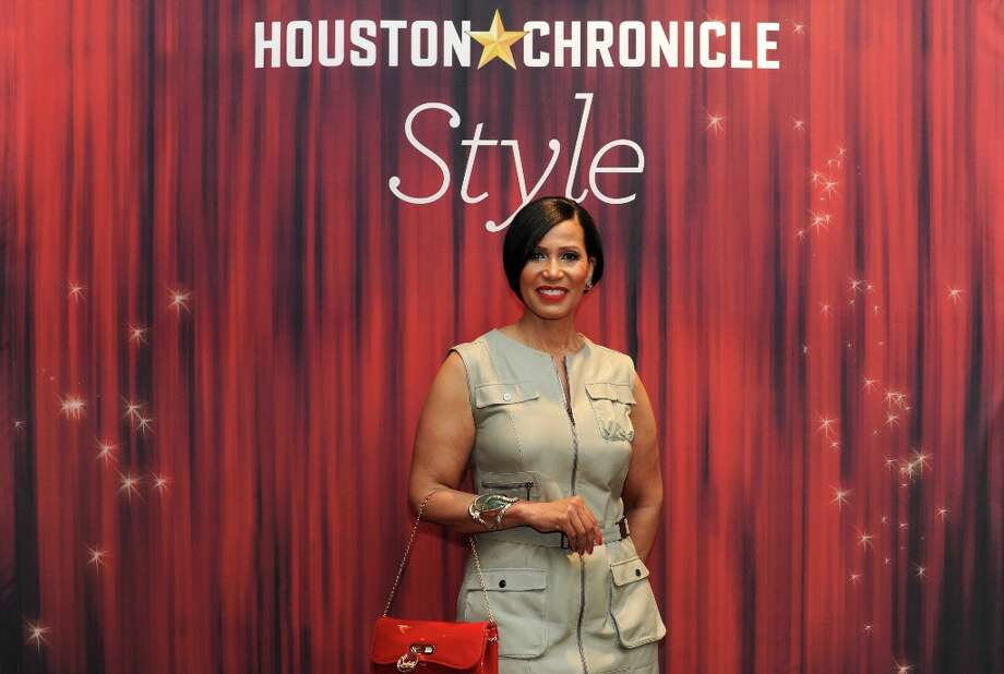 Jacqueline Kinloch poses at the Houston Chronicle's 31st annual Best Dressed luncheon, at the Westin Galleria Hotel, Houston, Texas on the 3rd April 2013. Photo: Spike Johnson, For The Chronicle / Spike Johnson