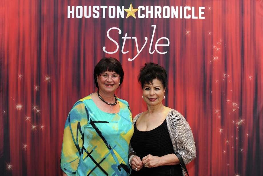 Sharona Koret and Julia Steinberg (left to right) pose at the Houston Chronicle's 31st annual Best Dressed luncheon, at the Westin Galleria Hotel, Houston, Texas on the 3rd April 2013. Photo: Spike Johnson, For The Chronicle / Spike Johnson