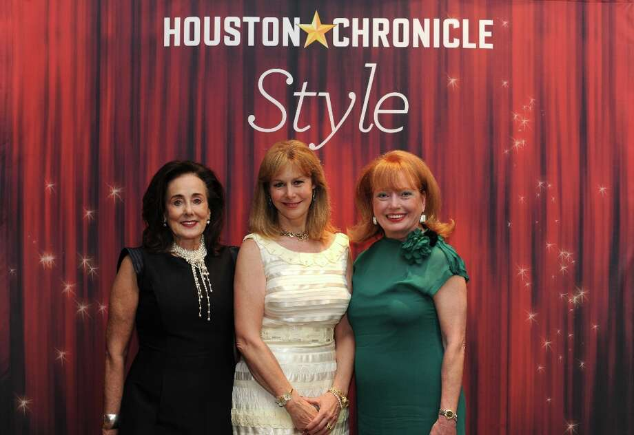 Betty Taylor, Cheryl Byington and Karen Wildenshin (left to right) pose at the Houston Chronicle's 31st annual Best Dressed luncheon, at the Westin Galleria Hotel, Houston, Texas on the 3rd April 2013. Photo: Spike Johnson, For The Chronicle / Spike Johnson
