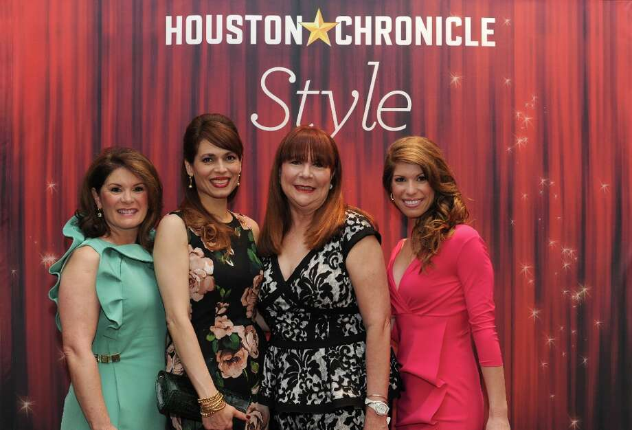 Christine Napier, Karina  Barbier, Barbara Van Postman and Stephanie Moody (left to right) pose at the Houston Chronicle's 31st annual Best Dressed luncheon, at the Westin Galleria Hotel, Houston, Texas on the 3rd April 2013. Photo: Spike Johnson, For The Chronicle / Spike Johnson