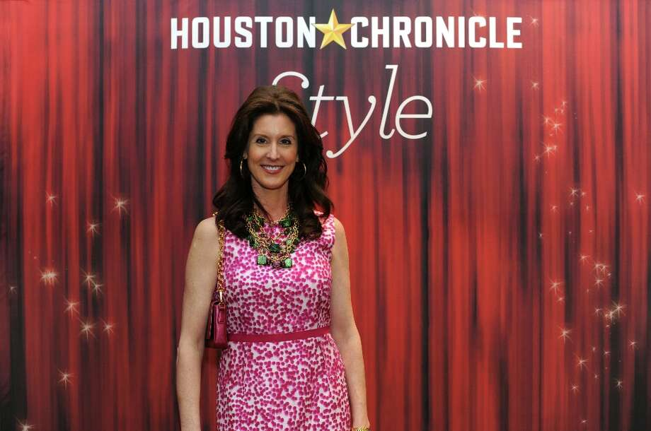 Phoebe Tudor poses at the Houston Chronicle's 31st annual Best Dressed luncheon, at the Westin Galleria Hotel, Houston, Texas on the 3rd April 2013. Photo: Spike Johnson, For The Chronicle / Spike Johnson