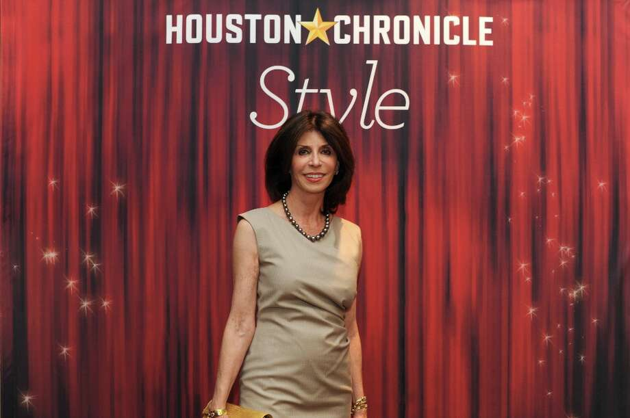 Judith Dudt poses at the Houston Chronicle's 31st annual Best Dressed luncheon, at the Westin Galleria Hotel, Houston, Texas on the 3rd April 2013. Photo: Spike Johnson, For The Chronicle / Spike Johnson