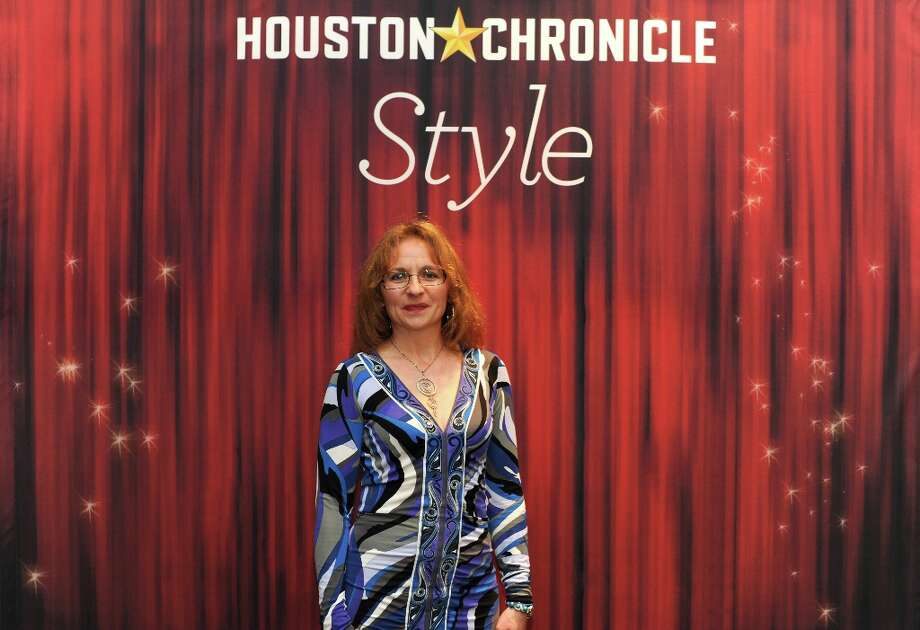 Laura Phoenix poses at the Houston Chronicle's 31st annual Best Dressed luncheon, at the Westin Galleria Hotel, Houston, Texas on the 3rd April 2013. Photo: Spike Johnson, For The Chronicle / Spike Johnson