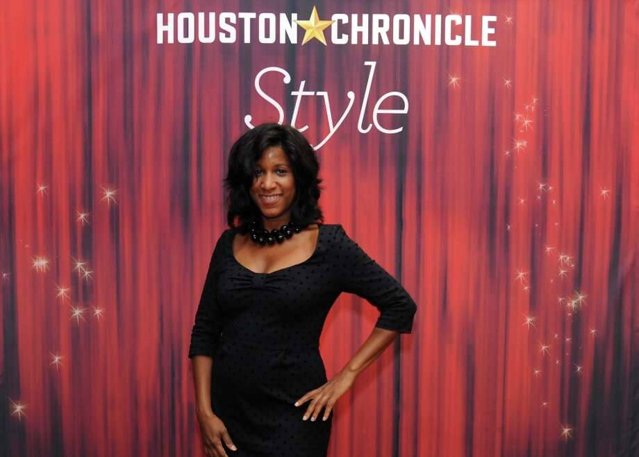 Joy Sewing poses at the Houston Chronicle's 31st annual Best Dressed luncheon, at the Westin Galleria Hotel, Houston, Texas on the 3rd April 2013. Photo: Spike Johnson, For The Chronicle / Spike Johnson