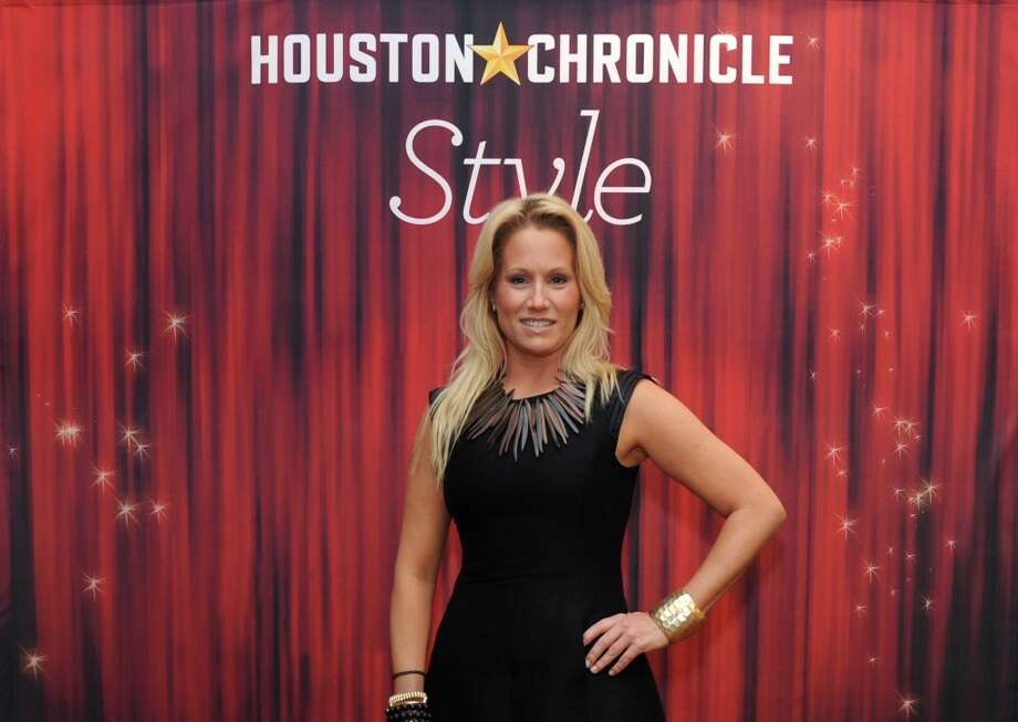 Jill Faucetta poses at the Houston Chronicle's 31st annual Best Dressed luncheon, at the Westin Galleria Hotel, Houston, Texas on the 3rd April 2013. Photo: Spike Johnson, For The Chronicle / Spike Johnson