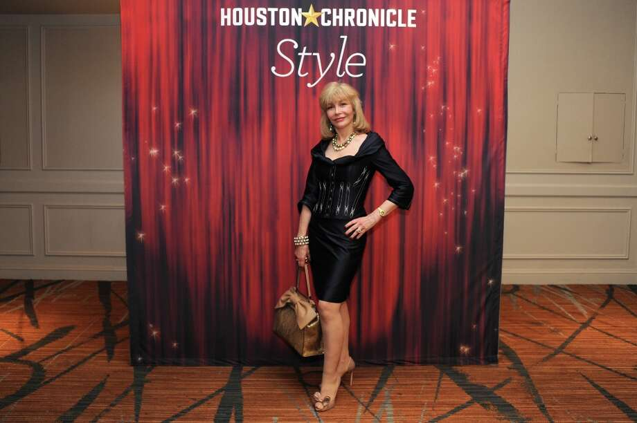 Susan Boggio  poses at the Houston Chronicle's 31st annual Best Dressed luncheon, at the Westin Galleria Hotel, Houston, Texas on the 3rd April 2013. Photo: Spike Johnson, For The Chronicle / Spike Johnson