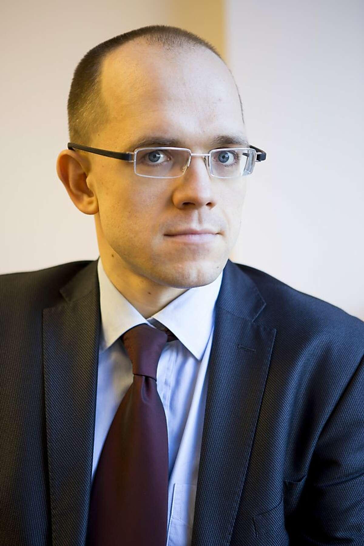 Evgeny Morosov at the Open Society Foundations in New York City, March 4, 2013.