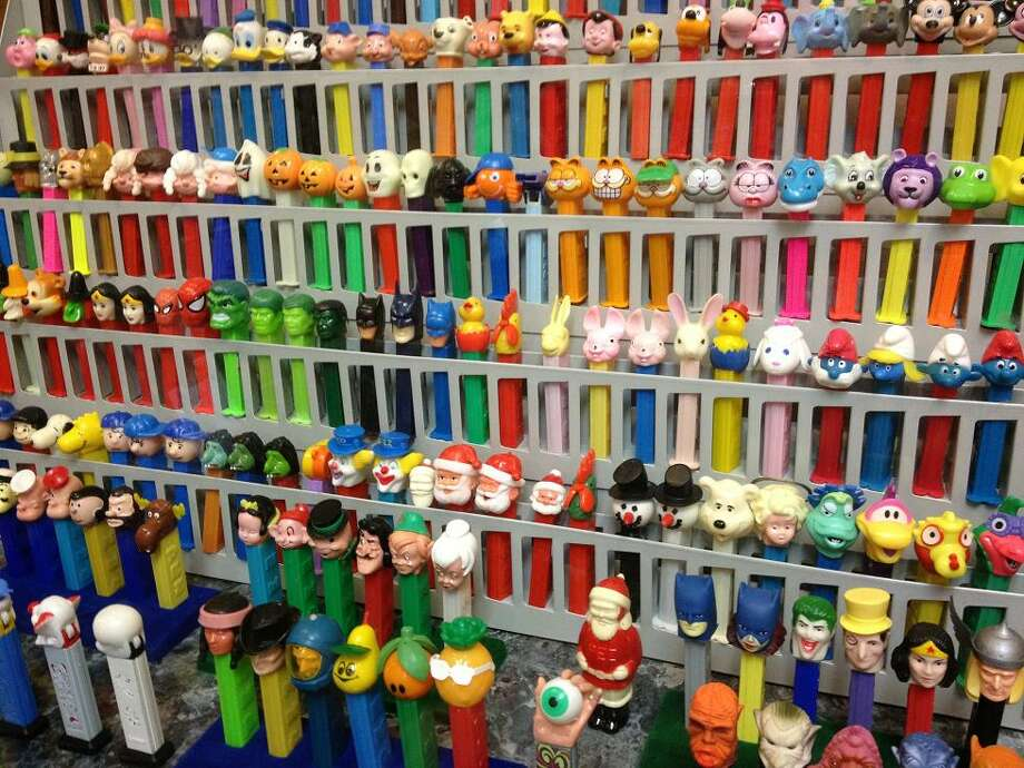 Dispensers with character heads hit the stores in 1955 and soon there would be thousands of variations available.