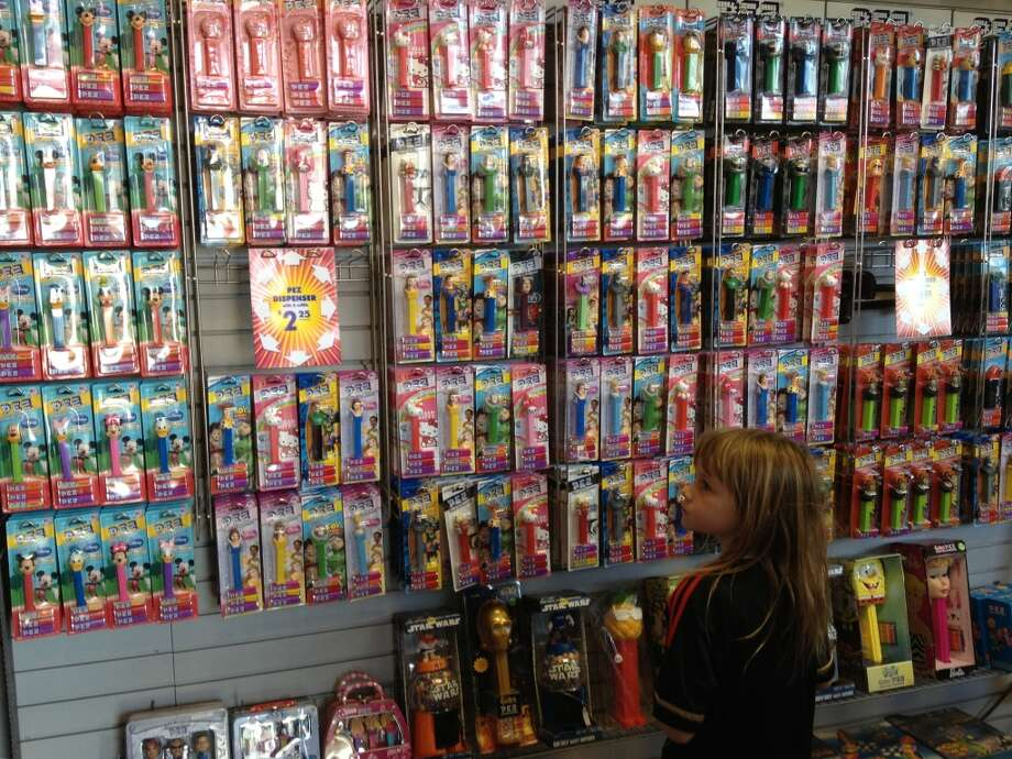 Just try leaving the PEZ museum without your own dispenser. Also, try leaving in under an hour. Choices, choices ….