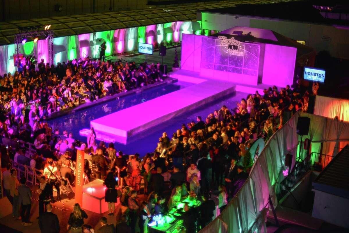 The poolside scene at Primavera