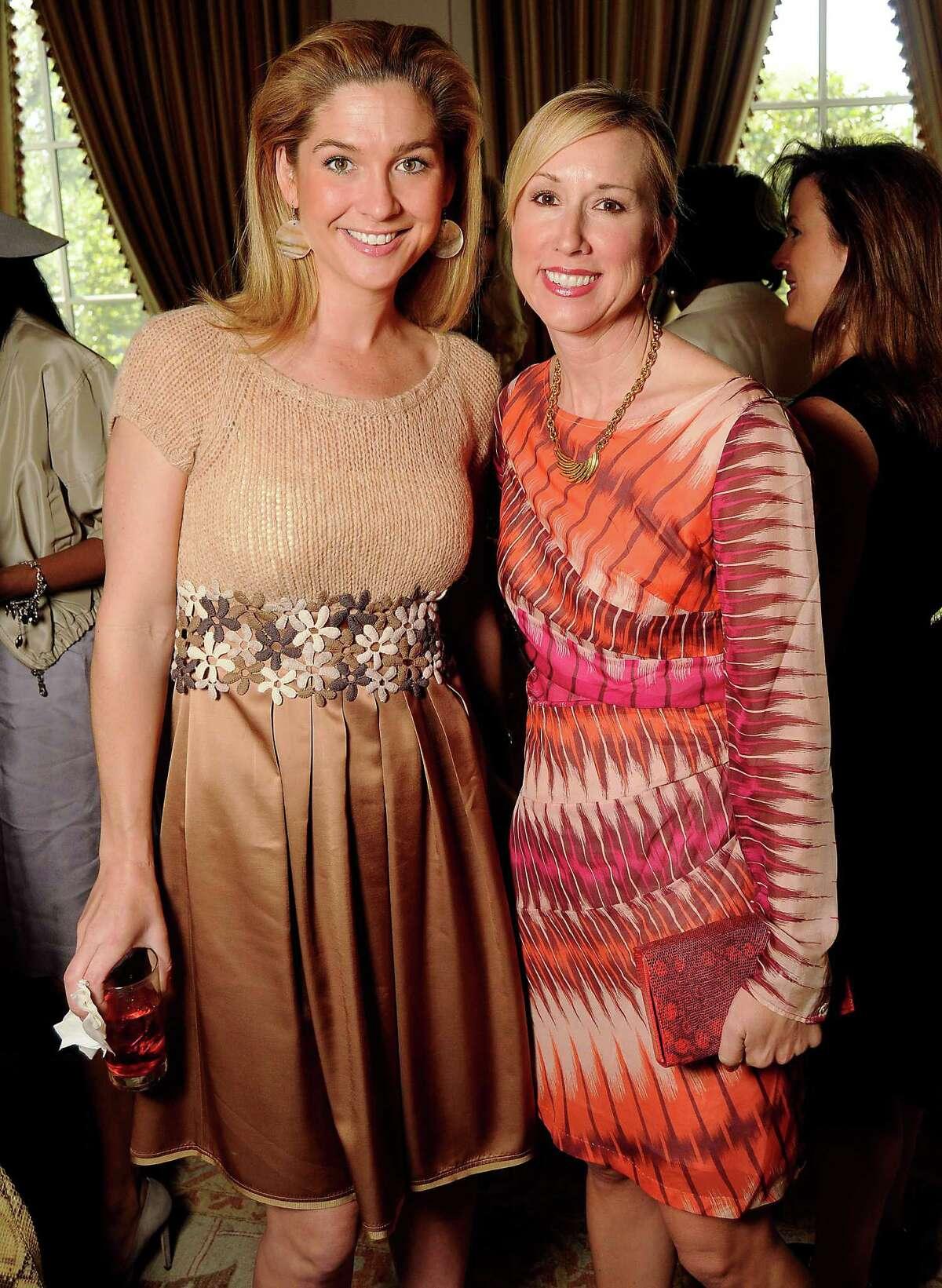 Lisa Oren, left, and Caroline Finkelstein